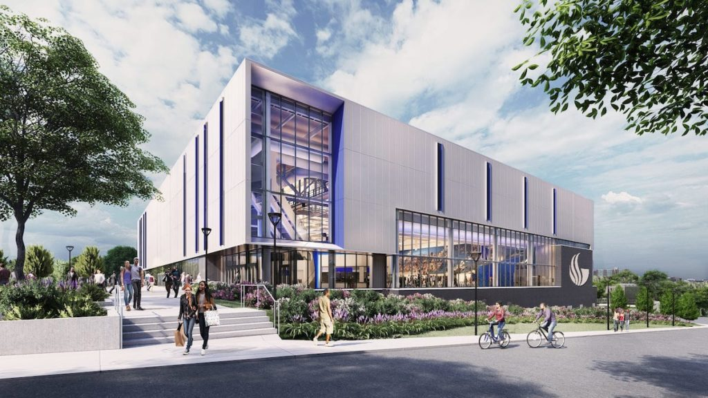 Georgia State Convocation Center Rendering 1