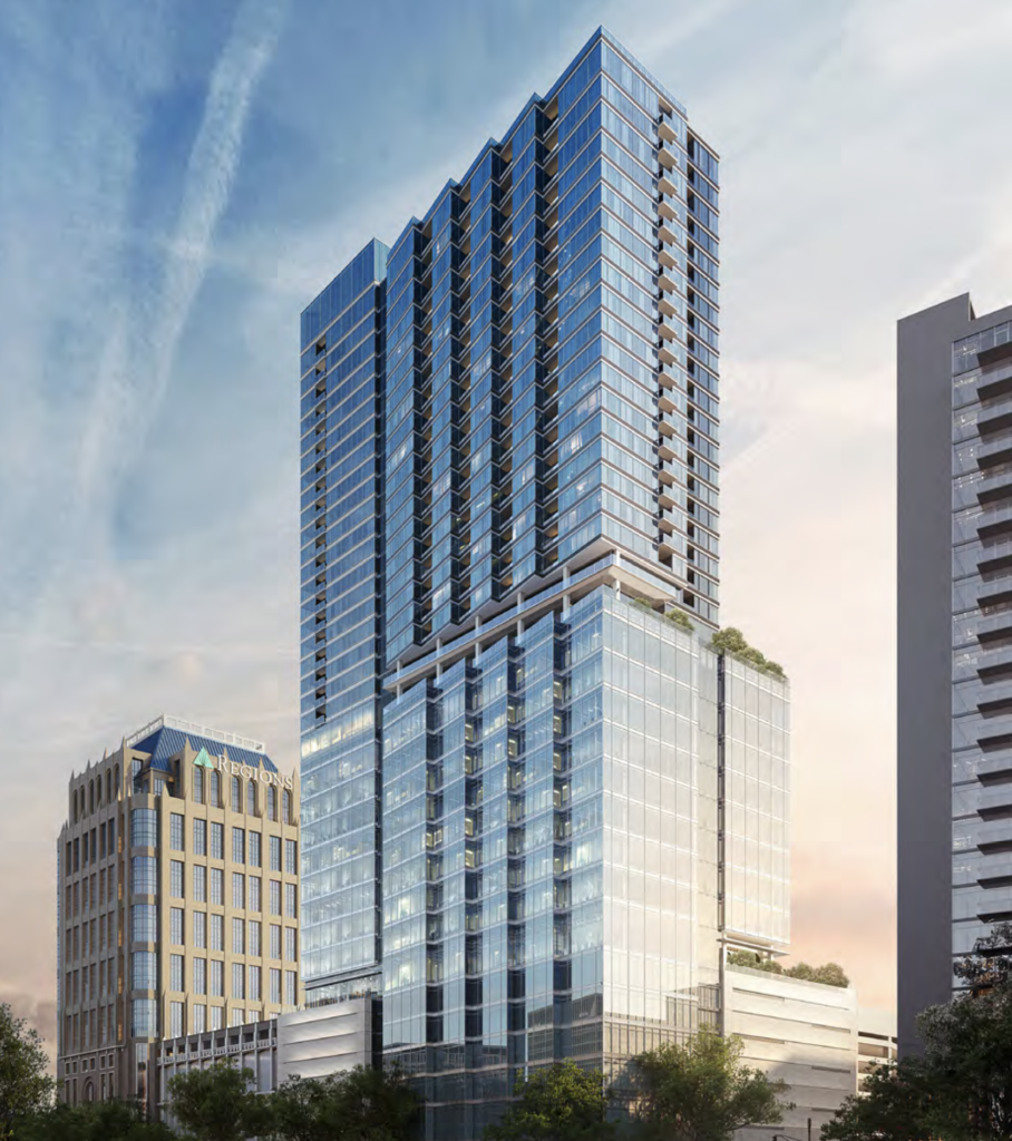 Hanover Advances 40-Story Midtown Tower With Land Development Permit Filing