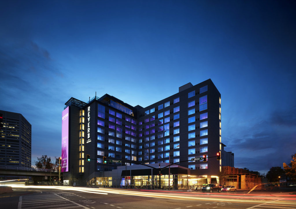 Hard Rock Hotels Opens 195-Key Reverb Downtown, First-Ever For New Brand