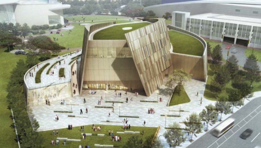 National Center for Civil and Human Rights Adding 20,000 Square-Foot Wing With $17 Million Grant - Rendering 1
