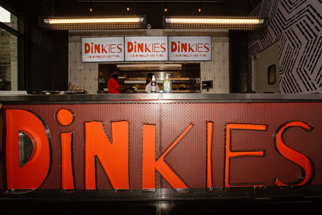 Big Dave's Cheesesteaks Goes Vegan at Ponce City Market With The Opening of 'Dinkies'