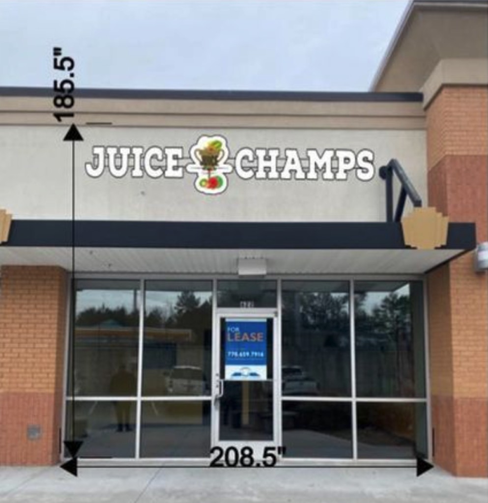 Juice Champs Finally Has a Store to Call Home in Kennesaw