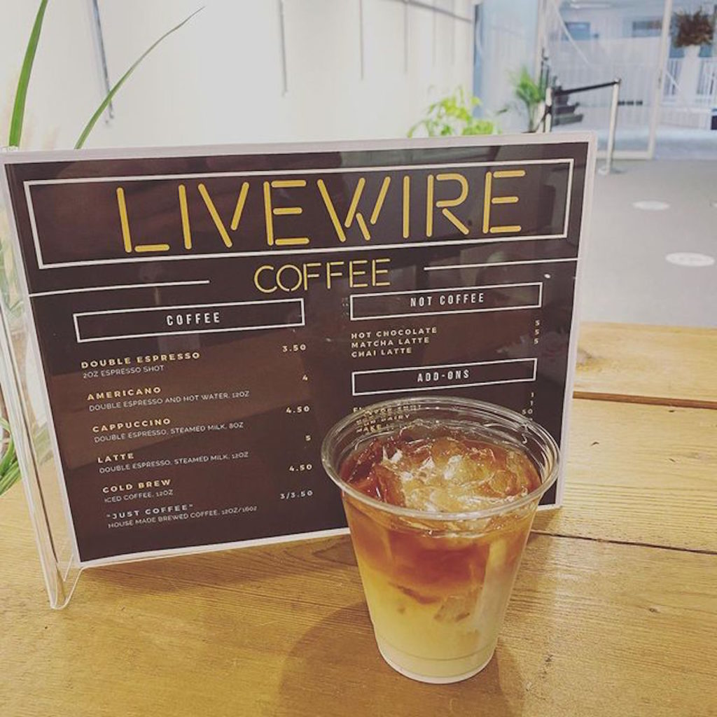 LiveWire Coffee Getting Ready to Open First Brick-and-Mortar