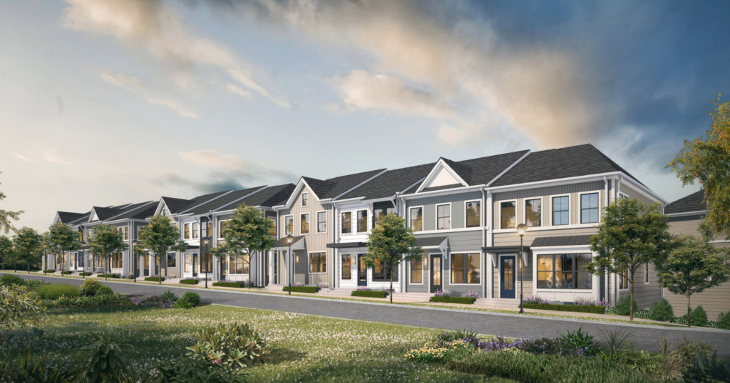 Almond Park Townhomes Rendering