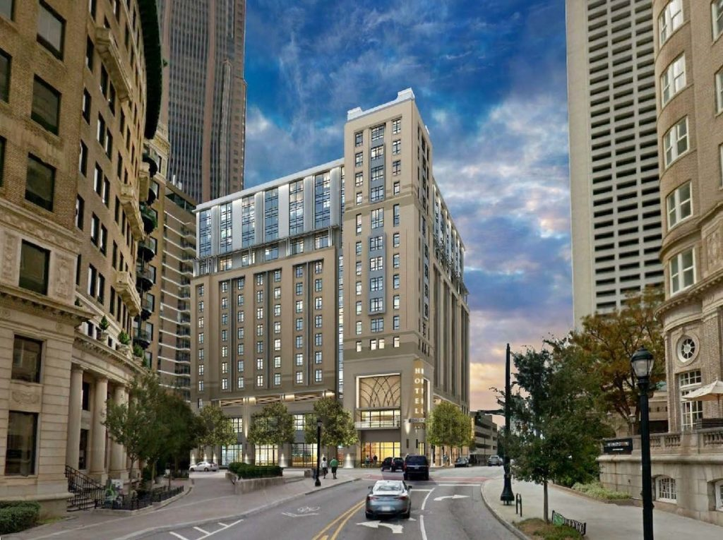 Courtyard By Marriott, Element By Westin Dual-brand Hotels Open In Midtown