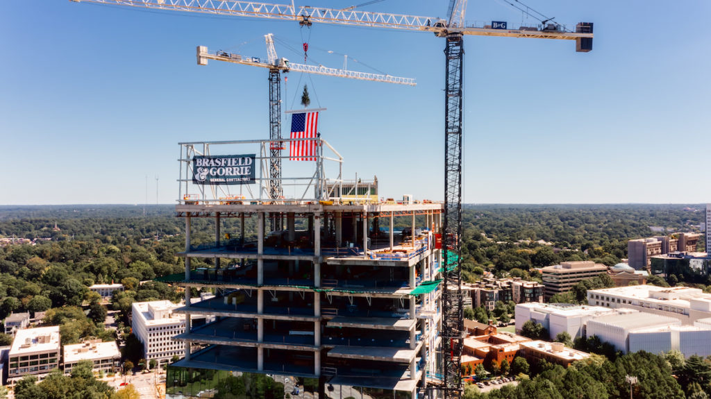 Midtown Union's Office Tower Tops Out - Photo 1