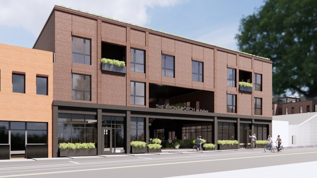The Front Porch on Auburn Avenue Seeks Local, Regional Restaurant Groups - Rendering 1